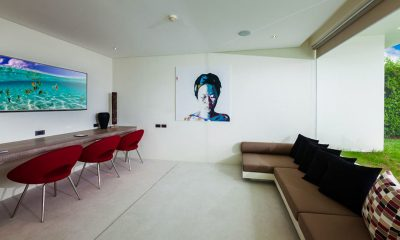 Villa Anavaya Entertainment Room | Choeng Mon, Koh Samui