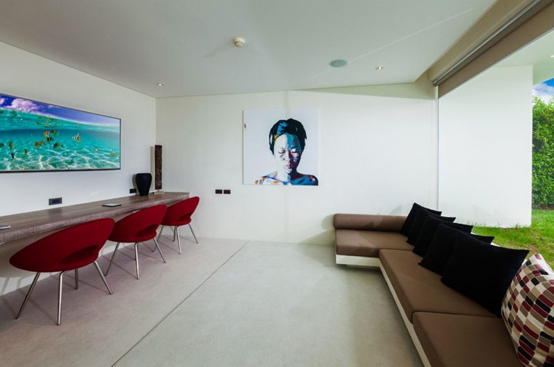 Villa Anavaya Entertainment Room   Choeng Mon, Koh Samui