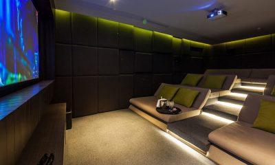Villa Anavaya Media Room | Choeng Mon, Koh Samui