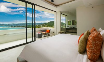 Villa Anavaya Bedroom and En-suite Bathroom | Choeng Mon, Koh Samui
