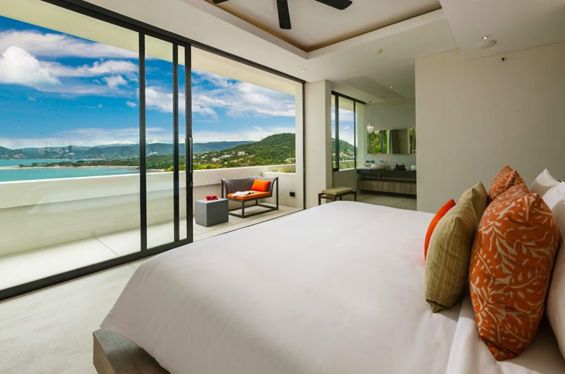 Villa Anavaya Bedroom and En-suite Bathroom | Choeng Mon, Koh Samui