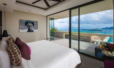 Villa Anavaya Bedroom with Sea View | Choeng Mon, Koh Samui