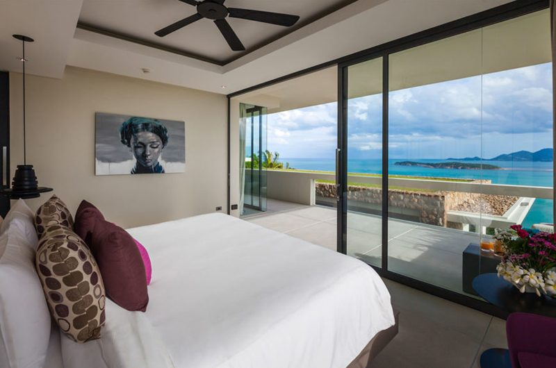 Villa Anavaya Bedroom with Sea View | Choeng Mon, Koh Samui