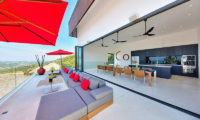Villa Kamelia Open Plan Living Area | Bophut, Koh Samui