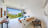 Villa Kamelia Bedroom with Study Table | Bophut, Koh Samui