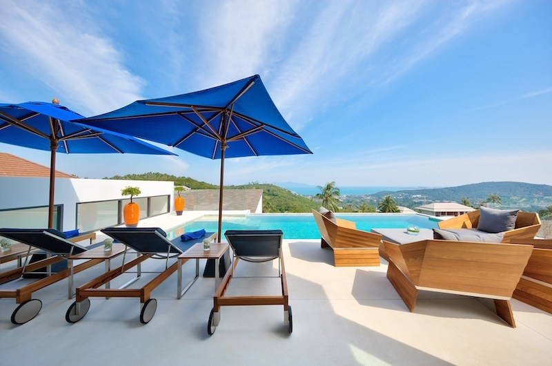 Villa Kamelia Outdoor Seating | Bophut, Koh Samui