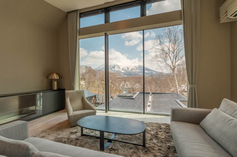 Boheme Living Area with View | Hirafu, Niseko