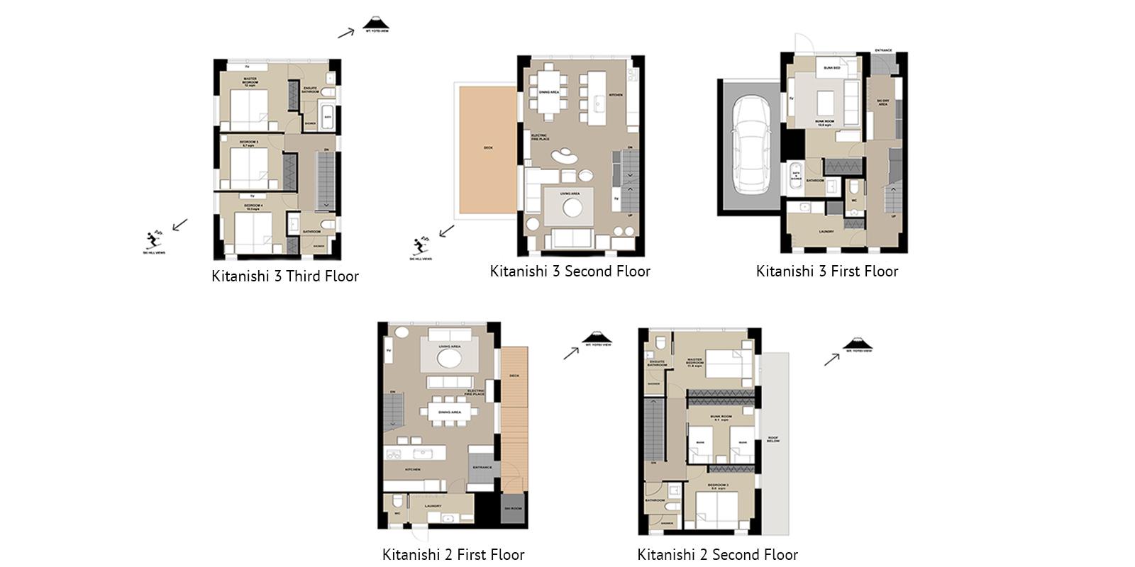 Niseko Kitanishi Floor Plan   Hirafu, Niseko