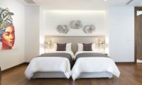 Malaiwana Residences Duplex Twin Bedroom Area | Naithon, Phuket