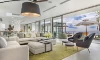 Malaiwana Residences Penthouse Open Plan Living Area | Naithon, Phuket