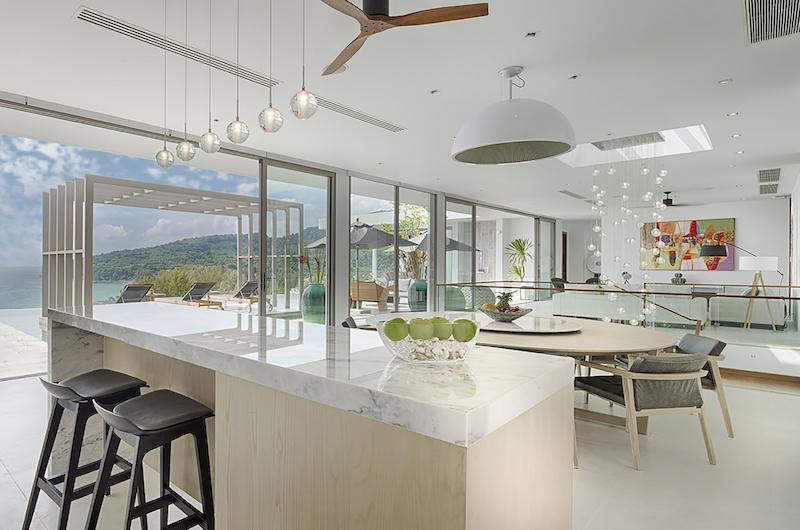 Malaiwana Residences Penthouse Open Plan Dining Area | Naithon, Phuket