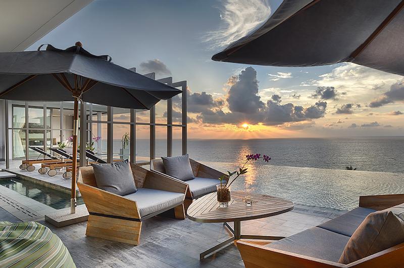 Malaiwana Residences Penthouse Outdoor Seating | Naithon, Phuket