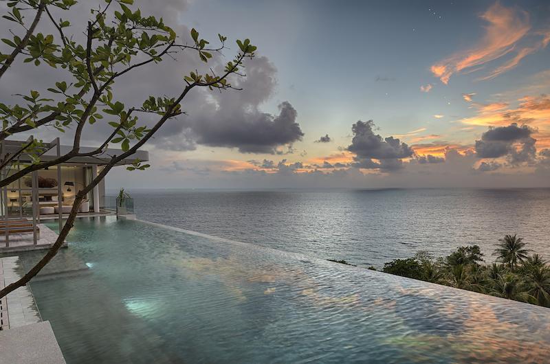 Malaiwana Residences Penthouse Pool Area | Naithon, Phuket