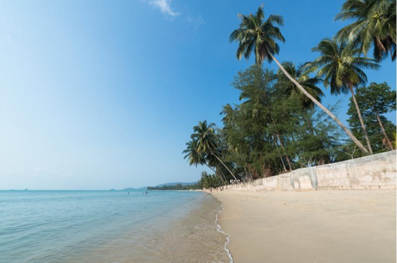 Thailand Koh Samui Lipa Noi Beach