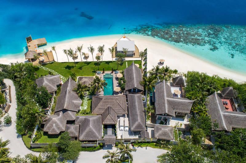 Maldives Jumeirah Vittaveli Royal Residence-Aerial