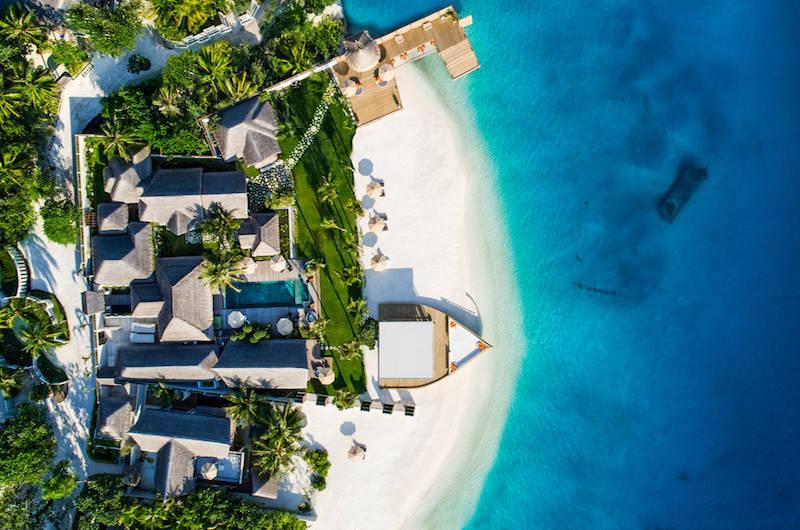 Maldives Jumeirah Vittaveli Royal Residence-Drone
