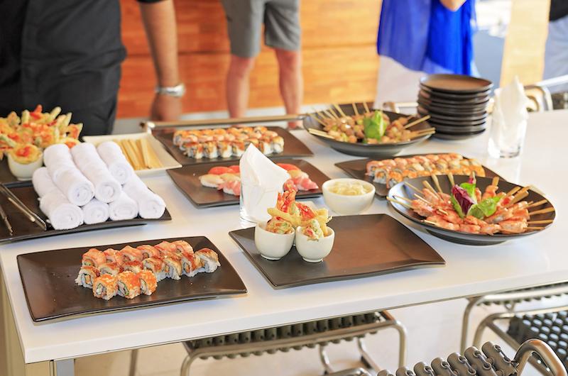 Bali Seminyak One Eleven Weddings Food