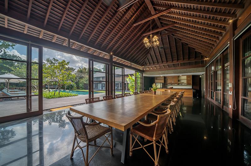 Villa Amita Wooden Dining Table | Canggu, Bali