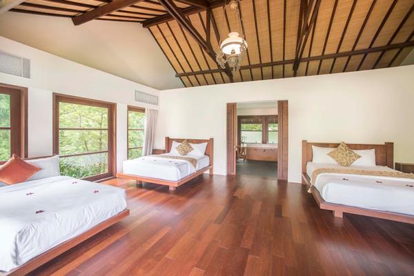 Villa Amita Spacious Bedroom Four with Ensuite Bathroom | Canggu, Bali