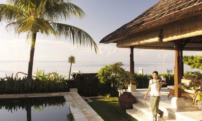 Villa Cemara Sanur Living Area with Pool View | Sanur, Bali