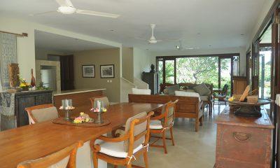 Villa Perle Indoor Living and Dining Area | Candidasa, Bali