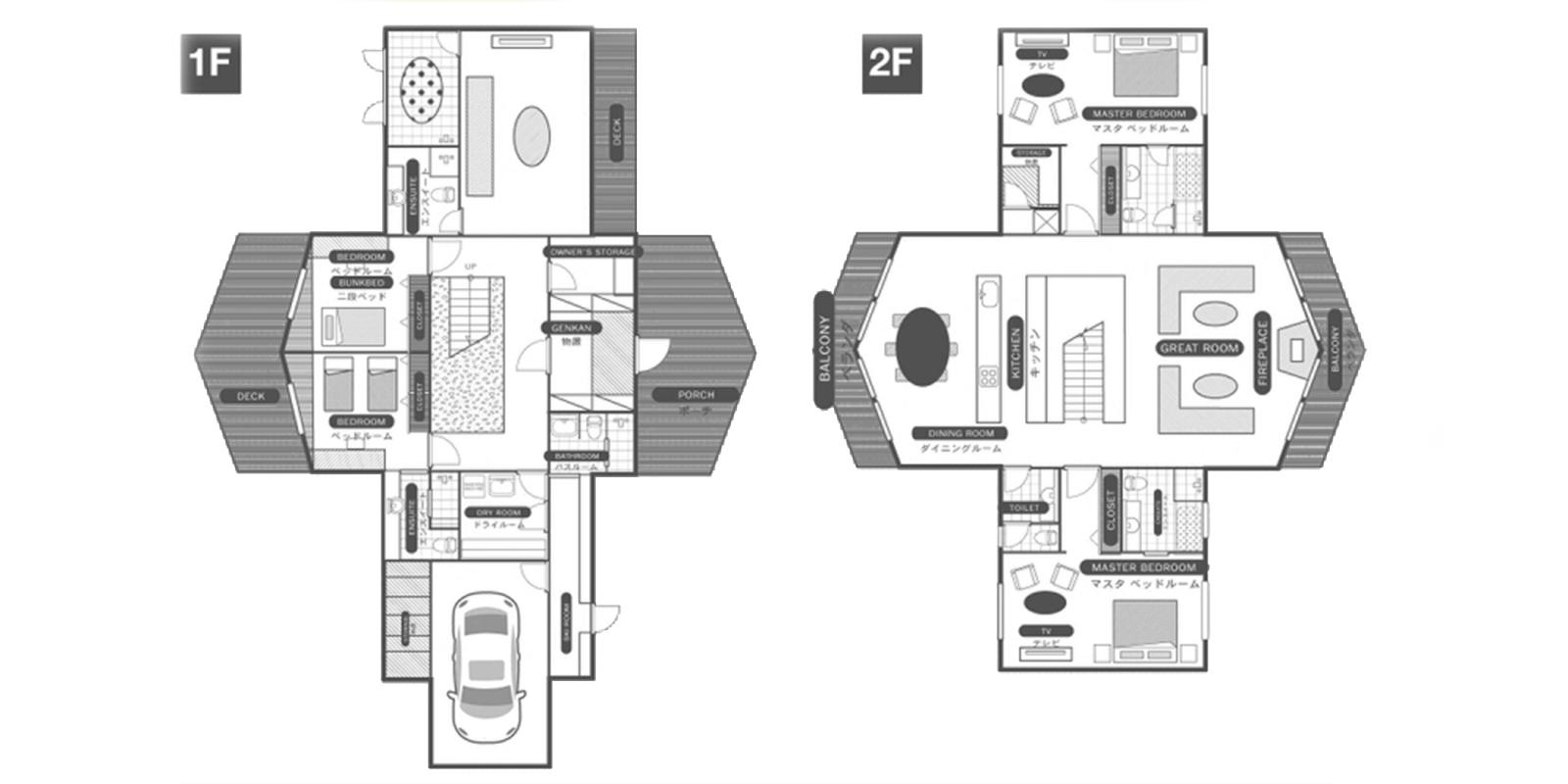 The Orchards Niseko Eagle's Nest Floor Plan | St Moritz, Niseko