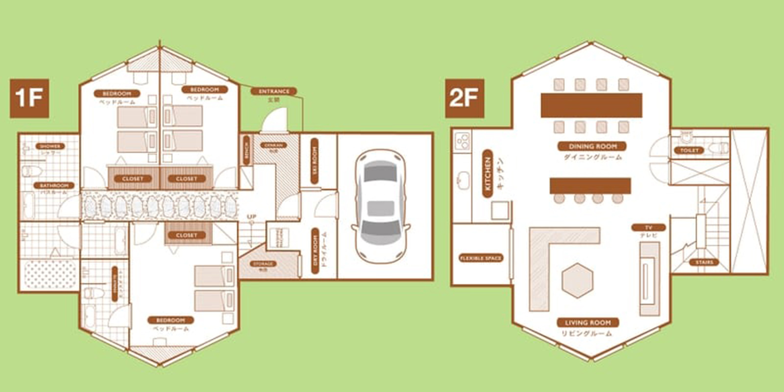 The Orchards Niseko Kuromatsu Floor Plan | St Moritz, Niseko