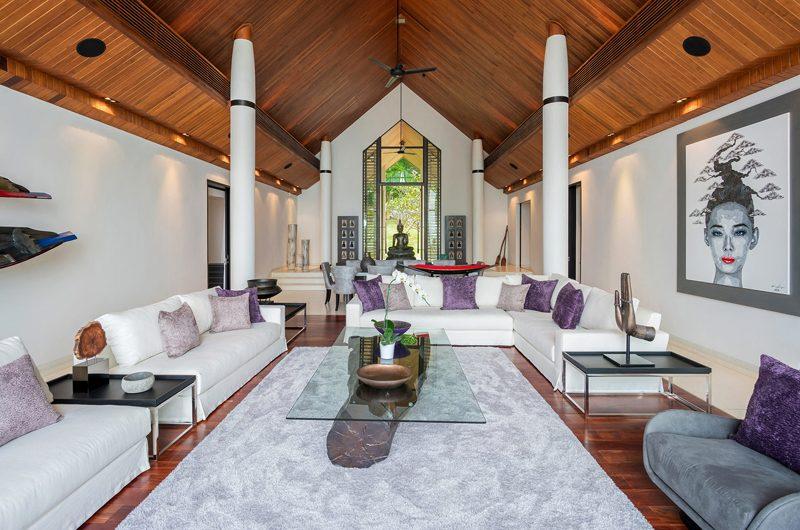 Naam Sawan Living Area | Cape Yamu, Phuket