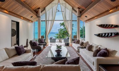 Naam Sawan Indoor Living Area | Cape Yamu, Phuket