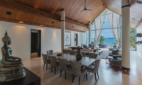 Naam Sawan Living and Dining Area | Cape Yamu, Phuket