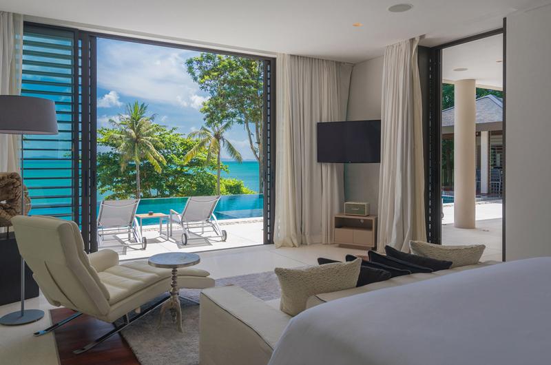 Naam Sawan Bedroom with TV | Cape Yamu, Phuket