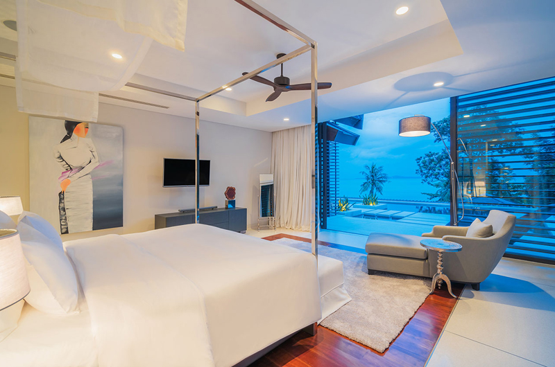 Naam Sawan Bedroom and Balcony | Cape Yamu, Phuket
