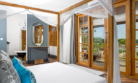 The Boat House Spacious Bedroom with Four Poster Bed | Dickwella, Sri Lanka