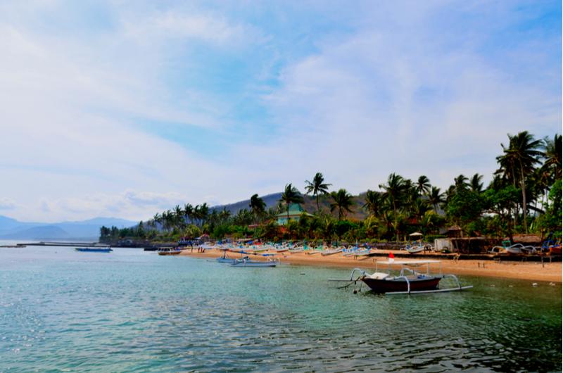 Bali Candidasa Beach