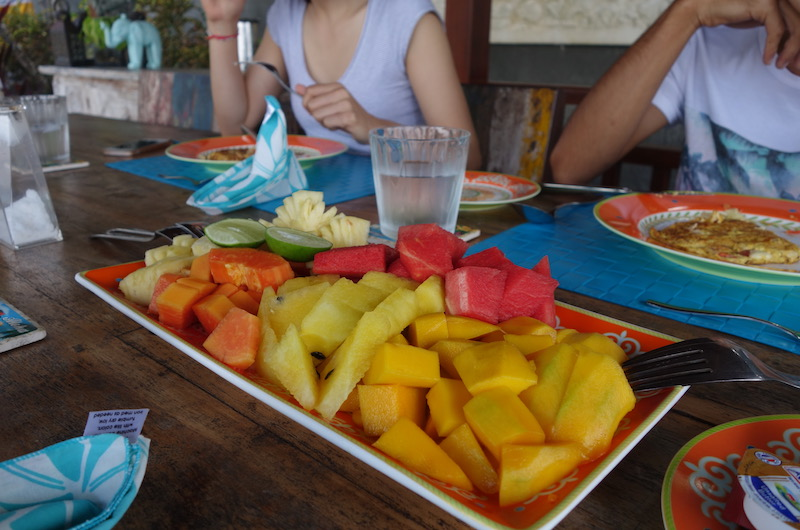 Bali Candidasa Tirta Nila Breakfast