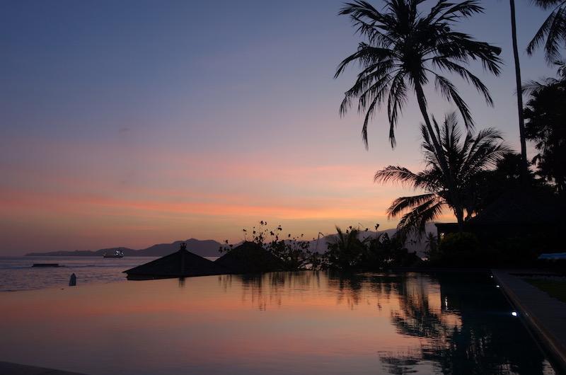 Bali Candidasa Tirta Nila Sunset