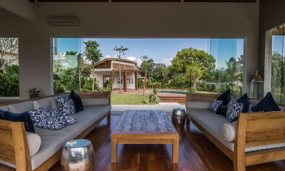 Villa Breeze Living Area with Pool View | Canggu, Bali