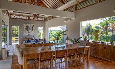 Villa Breeze Living and Dining Area | Canggu, Bali