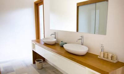 Villa Breeze His and Hers Bathroom | Canggu, Bali
