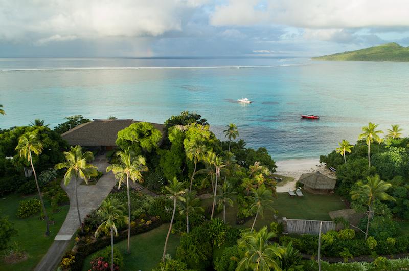 Fiji Vatuvara Villa Delana View