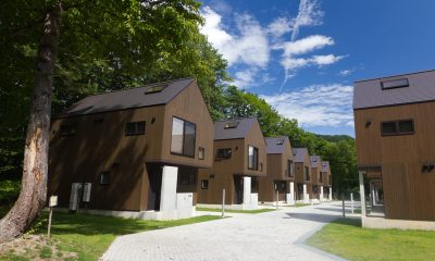 Gakuto Villas Outdoor Area with View | Hakuba, Nagano