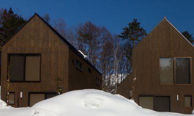 Gakuto Villas Bird's Eye View   Hakuba, Nagano