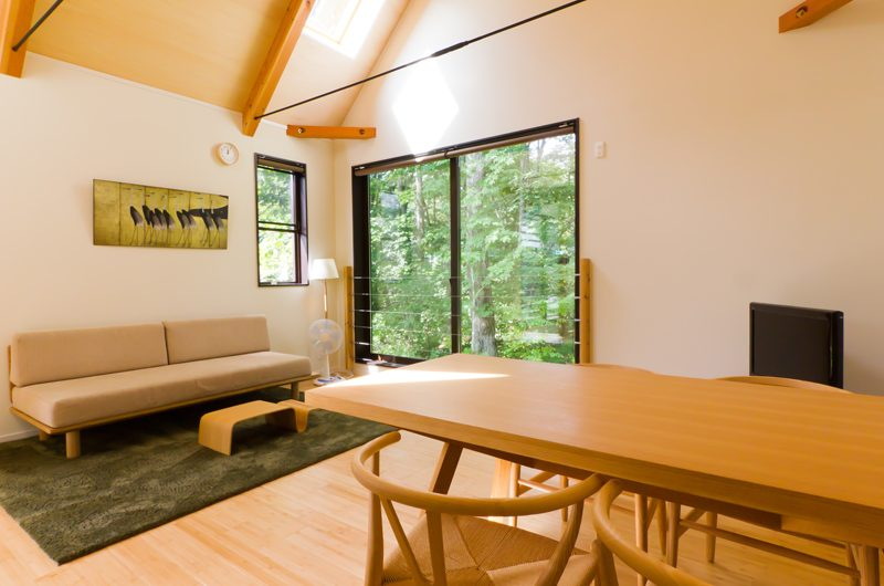 Gakuto Villas Dining Area | Hakuba, Nagano