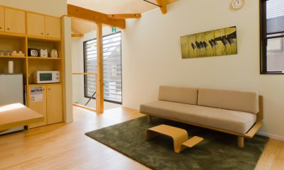 Gakuto Villas Living Area   Hakuba, Nagano