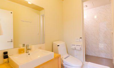 Gakuto Villas En-suite Bathroom   Hakuba, Nagano