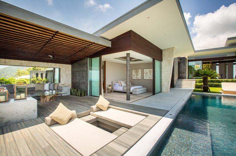 Raku Samui Pool Side Seating Area | Maenam, Koh Samui
