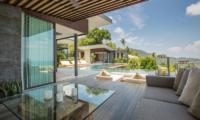 Raku Samui Open Plan Lounge Area | Maenam, Koh Samui