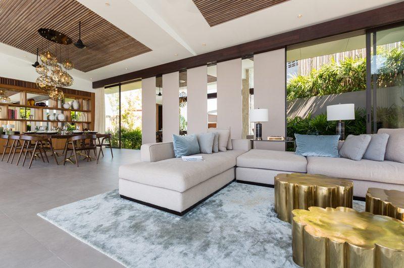 Raku Samui Indoor Living and Dining Area | Maenam, Koh Samui