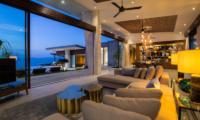 Raku Samui Indoor Living Area | Maenam, Koh Samui