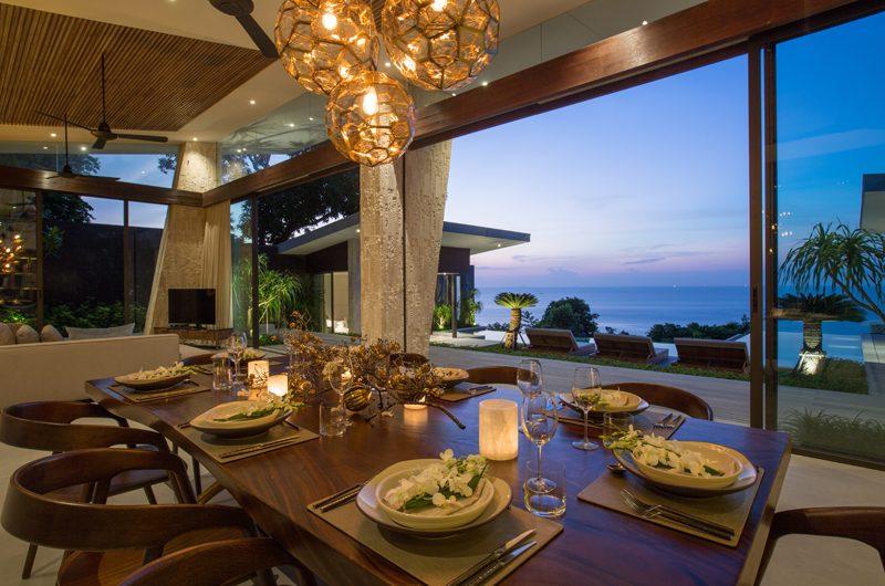 Raku Samui Dining Area with Sea View | Maenam, Koh Samui